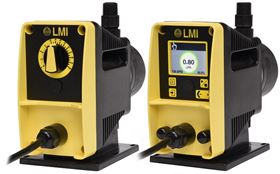 LMI's new PD Series of chemical metering pumps.
