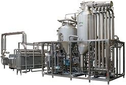 The SPX Flow Infusion SDH UHT plant.