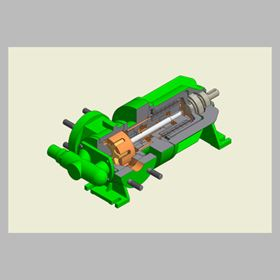 The GML pump is approved for hazardous areas (ATEX) and suitable for liquids which are dangerous for the environment.