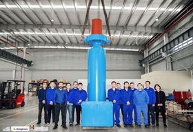 The Hayward Tyler team with the first localized boiler circulating pump (BCP).