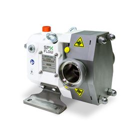 The hygienic Johnson TopLobe pump is designed for both high and low viscosity products.