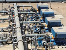 ITT Goulds Pumps 3600 API pumps propel seawater 145 km (90 miles) from the Pacific Ocean to a copper mine in Chile.