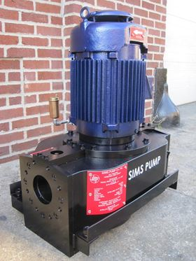A SIMSITE vertical in-line general service pumps.