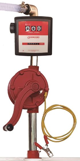 The BRM-8880A ATEX combines the MG-80A flow meter and the BRM-88 ATEX pump.