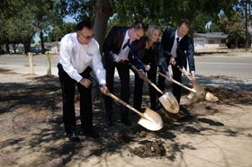 Grundfos breaks ground on water conservation initiative in Fresno