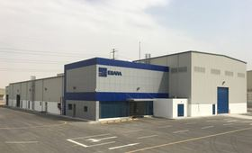 Ebara's new workshop in Dammam, Saudi Arabia.
