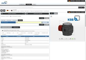 KSB has signed a strategic agreement with the Norwegian company Cobuilder AS to connect its pump configurator to the BIM data portal. (Image: KSB)