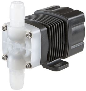 Iwaki's HRP metering pump for fluid injection.