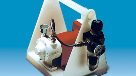 Vanton pump safely transfers volatile chemicals and gases