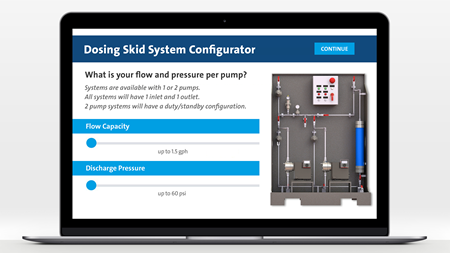 Grundfos launches dosing skid configurator with 3D