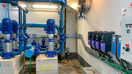 VFD optimises hospital's water supply