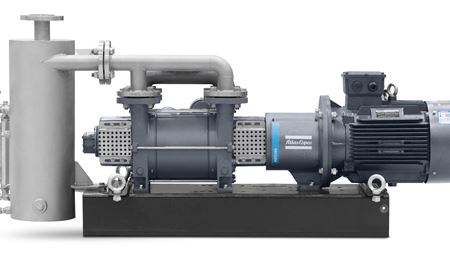 Atlas Copco launches liquid ring vacuum pumps for challenging environments