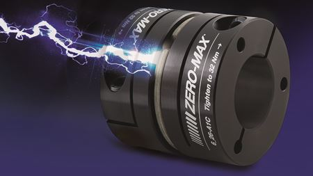 Zero-Max couplings feature flex element design