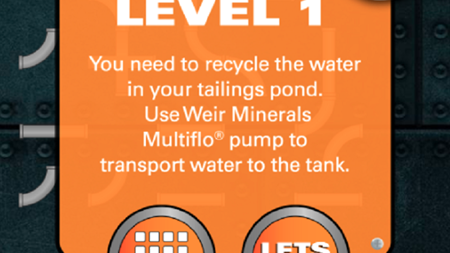 Weir Minerals releases dewatering game