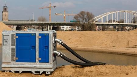 BBA introduces new BA100K dewatering pump set