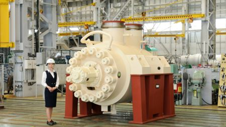 Ebara supplies large boiler feed water pumps to China