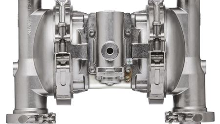ARO improves FDA-compliant diaphragm pumps