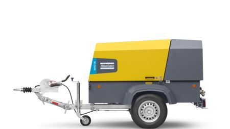 Atlas Copco's XATS 138 portable compressor