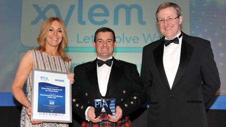 Xylem celebrates its award win