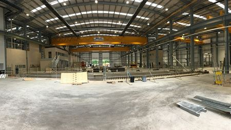 Sulzer's new UK service centre nears completion