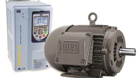 WEG exhibit's world's most energy efficient range of low voltage motors.