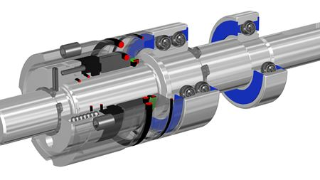 Ebsray upgrades mechanical seal assembly