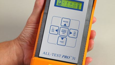 All-Test's hand held high tech initiative for analysis