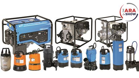 Tsurumi Pump showcases rental equipment at ARA