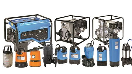 Tsurumi Pump features at rental trade show