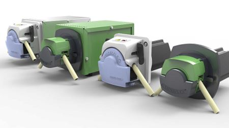 New Steptronic range of pumps from Verderflex