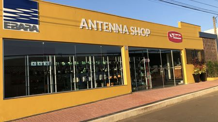 Ebara opens antenna shop in Brazil
