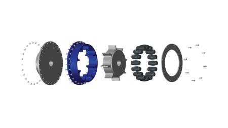 Renold Couplings' RBI range designed for industrial use