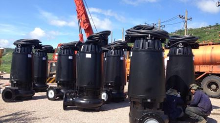Zenit delivers horizontal submersible pumps to Thailand