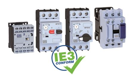 WEG introduces IE3-compliant motor switching and protection solutions