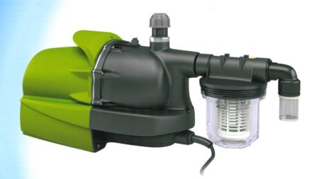 Hydroforce pump for rainwater harvesting