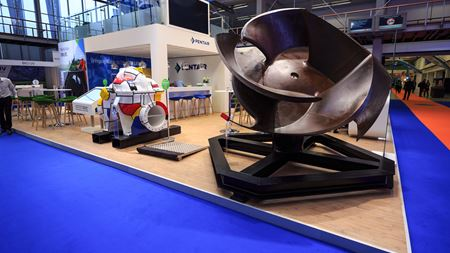Pentair's fish-friendly impeller at Aquatech