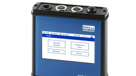 HNP Mikrosysteme introduces touch control option