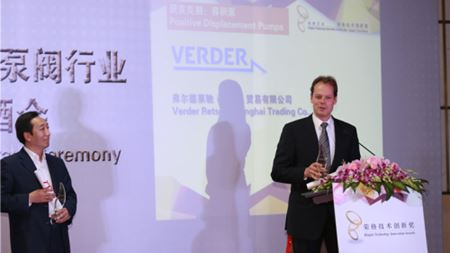Verderflex hose pumps receives award