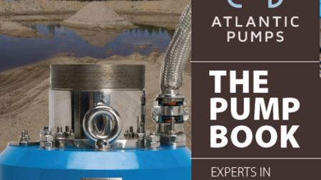 Atlantic Pumps to release 'Pump Book' for mining, quarrying and recycling markets