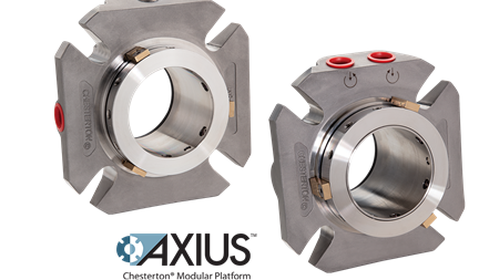 Chesterton launches cartridge seals on AXIUS