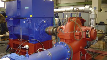 Pump solutions for conveying fluid through open and closed water pipelines