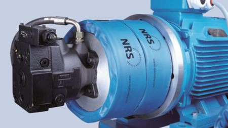 Noise reduction system for hydraulic equipment