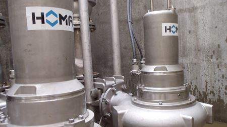 HOMA develops stainless steel submersible range