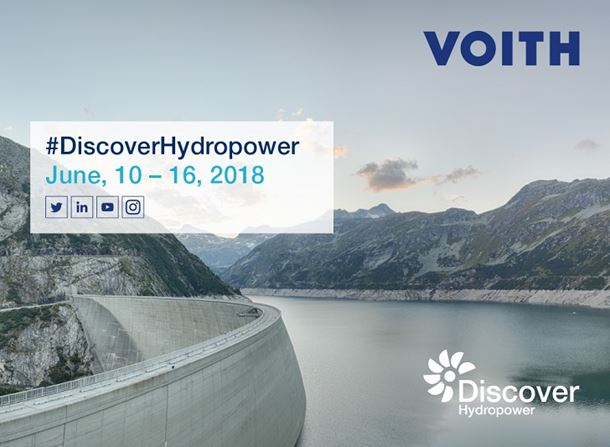 Voith undertakes Discover Hydropower Tour