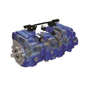 The X3 motor pairs with back-to-back or single pump options, offering a 36% increase in the side load capacity over previous Eaton pumps.
