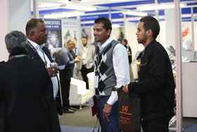 Visitors at the last Pumps, Valves and Pipes Africa conference.