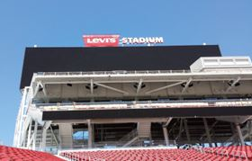 The pumping systems at the Levi's Stadium in Santa Clara, California, are equipped with VSD technology to ensure optimum efficiency in the water supply system.