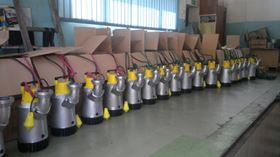 Ramirent's first order of 50 Atlas Copco WEDA pumps consisted of 19 WEDA 10, 19 WEDA 30 and 12 WEDA 40 pumps.