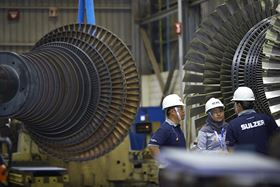 The service centre in Purwakarta offers expertise in steam turbine repair.