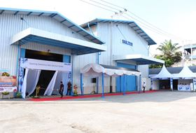 Putting the final touches to the opening ceremony for Sulzer's new service centre in Indonesia.